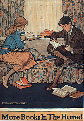 Book Week poster by Jessie Wilcox Smith